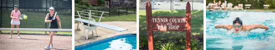 Tennis, Swimming, and Recreation at Brookside Country Club