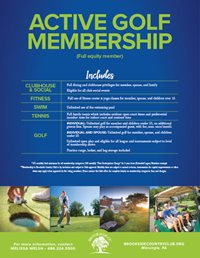 active golf membership